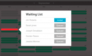 waitlist management with flexbooker online appointment scheduling